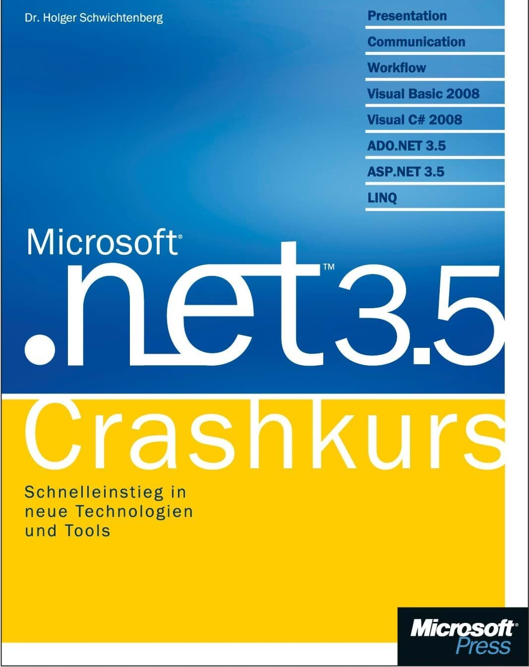 .NET 3.5 Crashkurs (Microsoft Press, 2008)
